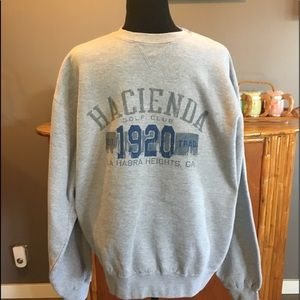 Gear for Sports Hacienda Golf Club Gray Sweatshirt